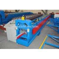 Buy cheap Construction Water System Roofing Sheet Gutter Roll Forming Machine 18 Rows from wholesalers