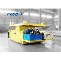 Buy cheap 75 ton Hydraulic Lifting Cable Reel powered industrial Transfer Trolley from wholesalers