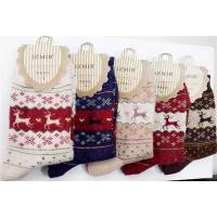 2014 Hot selling ladies christmas toe socks