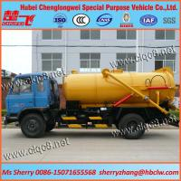 Buy cheap 10000liters Vacuum Tank Truck from wholesalers