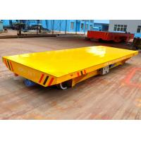 Buy cheap Explosion- proof 30t flat bed coal mining railway flat wagon with hydraulic lifting device from wholesalers
