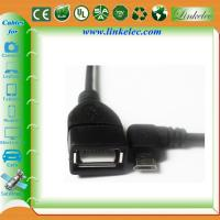 Buy cheap micro angled usb otg cable product