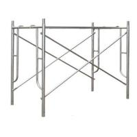 Buy cheap Hot Dip Galvanised Steel H Frame Scaffolding System With Large Capacity from wholesalers