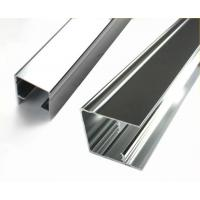 Buy cheap Square Mechanically Polished Aluminium Profile Extrusion For Building Material from wholesalers