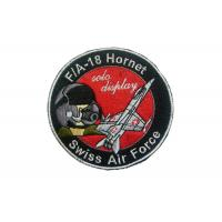 Buy cheap Leather, Felt, Jean Swiss Air Force Embroidery Patch With Iron Glue On Back Side from wholesalers