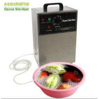 Buy cheap 3g/h 304 Stainless steel Food Store Pool Water Sterilization Generator Ozone Machine Ozonizer for Vegetables and Fruits from wholesalers