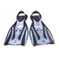 Buy cheap Long Blade Scuba Diving Fins Travel Scuba Fins Waterproof Silicone Rubber Material from wholesalers