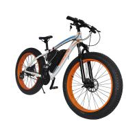 Buy cheap Cheap 350W fat tire electric bike, 26inch alloy electric bicycles  with lithium battery and pedal assistance from wholesalers