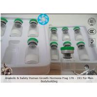 Buy cheap Bodbilding Peptide Fragment 176-191 2mg / Vial Human Growth Hormone anti aging CAS 221231-10-3 from wholesalers