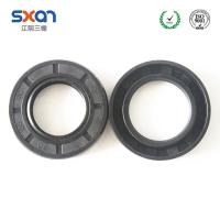 Buy cheap Skeleton oil seal with NBR rubber material TC double lip NBR oil seals product