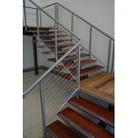 Buy cheap 304 Stainless Steel Cable Guardrail System Solid Rod Bar Railing Balustrade from wholesalers