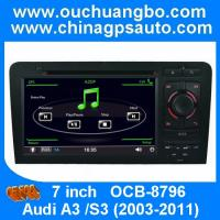 Buy cheap Ouchuangbo DVD radio multimedia player for Audi A3 /S3 2003-2011 with iPod canbus USB SD from wholesalers