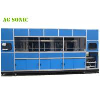 Buy cheap Automatic Industrial Ultrasonic Cleaner With Mechanical Arm For Solar Silicon Wafer from wholesalers