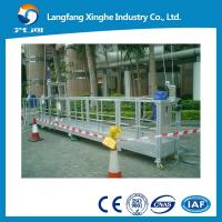 Buy cheap Aluminum temporary gondola ZLP800 / suspended cradle ZLP630 / high rise building cleaning machine from wholesalers