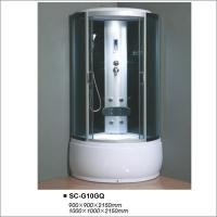 Buy cheap Fully Enclosed Steam Shower Cabin 900x900x2150mm With Computer Control Panel from wholesalers