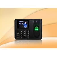 Buy cheap USB Host Biometric Time Clock / Simple Fingerprint Time Clock With Free Software from wholesalers