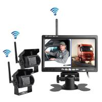 Buy cheap Wireless reversing camera for heavy duty truck, OTR 7inch two channels product