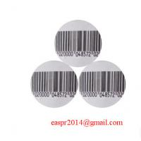 Buy cheap EAS Anti-theft commodity security labels EAS security stikers,8.2mhz eas rf label from wholesalers