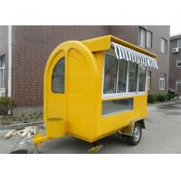 Buy cheap Mobile Food Carts Coffee truck , Mobile Caravan Food Concession Trailers from wholesalers