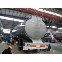 Buy cheap Sinotruk three axles 45000 - 50000 Liters Tanker Fuel Tank Semi Trailer, 7 compartments, with pump from wholesalers