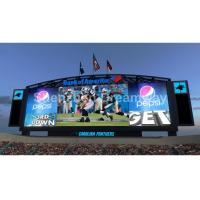Buy cheap OPTO / SILAN P 10 Stadium LED Display Waterproof with 1/4 Scan 7500nits Brightness from wholesalers