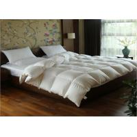 Buy cheap White Goose Feather Duck Down Quilt Duvet Cotton Covers Exquisite Design Full Size from wholesalers