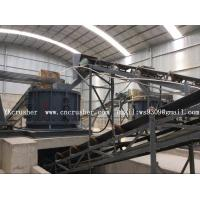 Buy cheap Industry Mining Rock Crusher , PSFL Vertical Shaft Impact Crusher from wholesalers