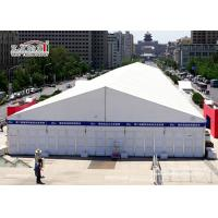 Buy cheap White Aluminum Temporary Storage Structures Industrial Canopy Tent Wind Resistant from wholesalers