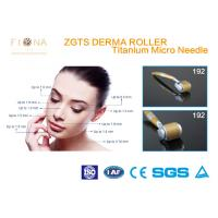 Buy cheap Stainless Zgts Micro Derma Pen Titanium 192 Needles Wrinkle Removal For Beauty Spa from wholesalers