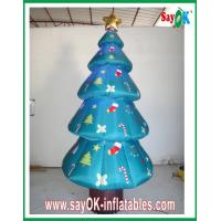 Buy cheap 210D Inflatable Christmas Decoration / Inflatable Christmas Tree from wholesalers