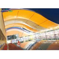 Buy cheap Colored Tensioned Tension Fabric Buildings / Swimming Pool Shade from wholesalers