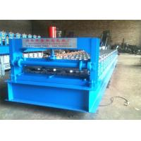 Buy cheap PPGI IBR Roof Sheet Color Steel Roll Forming Machine 350H Main Frame And 14mm Board Thickness from wholesalers