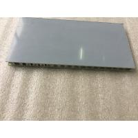 Buy cheap Pearl Red PVDF Paint Aluminum Honeycomb Panels With High Impact Resistance product