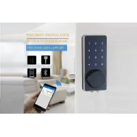 Buy cheap Renting House / Condo Touchpad Bluetooth Digital Smart Lock Zinc Alloy Aluminium Material from wholesalers