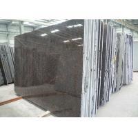 Exterior Tan Brown Granite Slab , Imported India Granite Paving Slabs