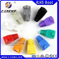 Buy cheap RJ45 Modular Plug Boots With Various Colors Customized product