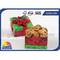 Buy cheap Cookie / Chocolate Food Packaging Box , Customized Gift Wrapping Boxes with Art Paper product
