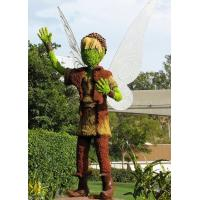 Buy cheap Fancy Fairy Tale Figure Sculpture Love God Cupid Topiary Artificial Fairy Plants Sculpture from wholesalers