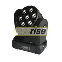 Buy cheap 7x10w LED Moving Head Light 100W With Zoom And Spin Function , Super Compact from wholesalers