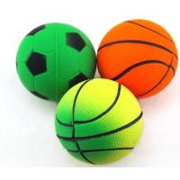 Buy cheap Educational sponge rubber pet dog toy tennis balls for Chihuahua from wholesalers