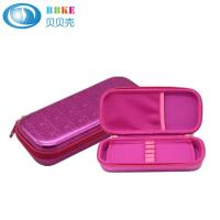 Buy cheap Customized high quality hard shell zipper closure EVA pencil case with mesh from wholesalers