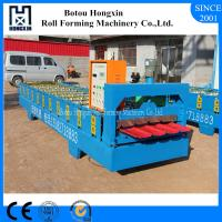 Automatic Roof Roll Forming Machine 1000mm Raw Material Width CE Approval