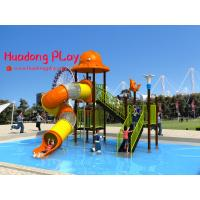 Buy cheap Promotional Water Park Playground Equipment Plastic Reliable Long Life Span from wholesalers