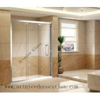 Buy cheap Tempered  glass door , toughened glass door with ISO9001, CE, Australia  AS/NZS 2208 Certificate from wholesalers