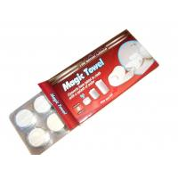 Buy cheap Spunlace Non-woven White Mini Compressed Towel Tube Package or Candy Package 8 Pcs from wholesalers