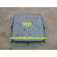 Buy cheap Weight Recessed Ductile Iron Manhole Cover d400 from wholesalers