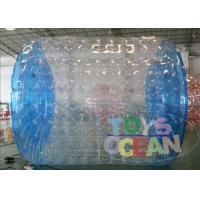 Buy cheap Professional Transparent Inflatable Zorb Ball / Zorb Roller For 2 - 4 Player from wholesalers