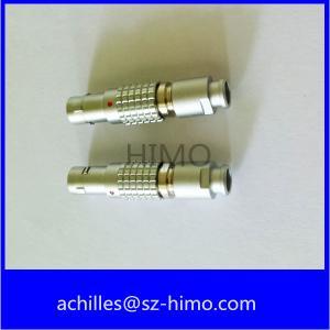 metal lemo 4 pin male plug FGG.1B.304.CLAD connector