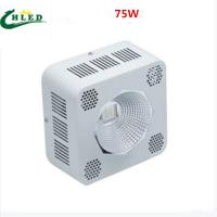 China cob led grow light 8band 75W/100W/200W full spectrum red+blue+White+ IR+UV led plant grow lights reflector cup on sale