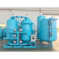 Buy cheap Skid Mounted PSA Oxygen Generator , 150-200 Bar Psa Oxygen Gas Plant In Blue from wholesalers